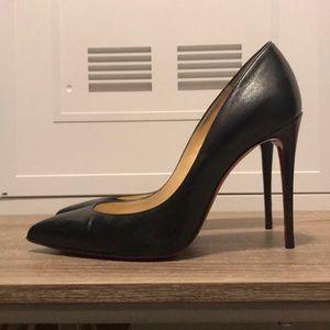 Christian Louboutin 6.5 black heels